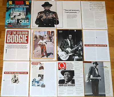 JOHN LEE HOOKER clippings magazine articles photos Blues