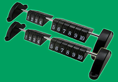 Set of 2 Foosball Scoring Units for Foosball Table - Table Soccer Scorekeepers