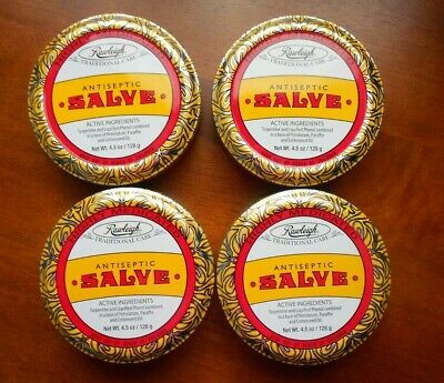 Rawleigh Antiseptic Salve   ( Set of 4 ) 5 oz. each