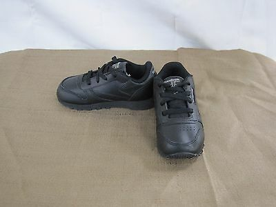c5a79cc52cb New Boy s Girl s Toddler s Reebok Classic Leather Athletic Shoe 92757 Black  61M