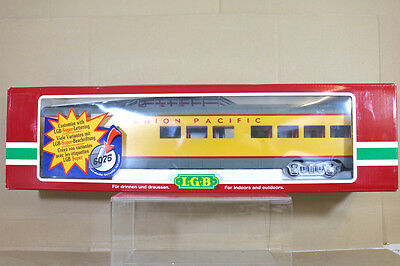 LGB 31580 UNION PACIFIC UP VISTA DOME OBSERVATION PASSENGER COACH MINT BOXED nf