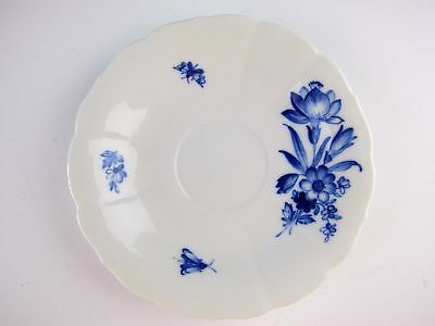 Meissen China BLUE FLOWER & INSECTS BLAUE & BLUME Saucer(s) EXCELLENT