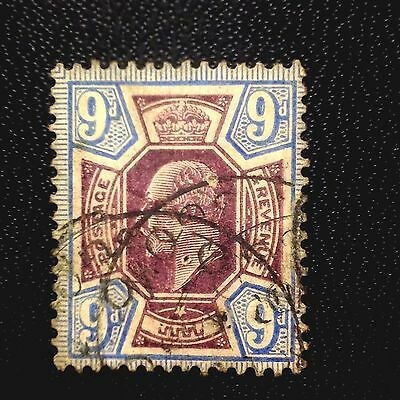 Great Britain Scott #136 Used..stamp. Value At $ 70.00 Scu8453332
