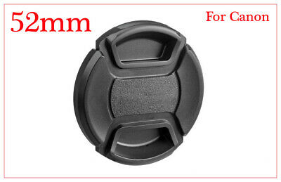 52mm Lens Cap Cover Snap-on for Canon  EF Lens. 50 mm f/1.8 II, 55-200mm & more