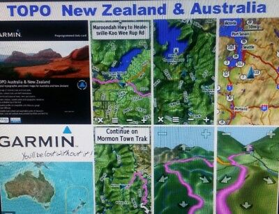 Latest 2016 Garmin  Australia & New Zealand Topo Map V5 - Micro SD Card Rino 750