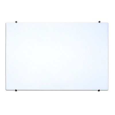 Luxor WGB3624M Magnetic Wall Mounted Glass Board (36 in. W x 24 in. H)  NEW