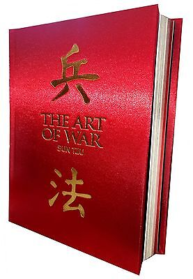 The Art of War Book Deluxe Special Gift Slipcase Hardback Box Set Ver - Sun Tzu