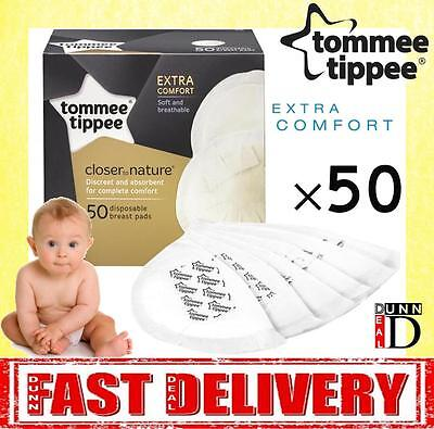 Tommee Tippee Closer Nature Maternity Disposable Breast Feeding Nursing 50 Pads