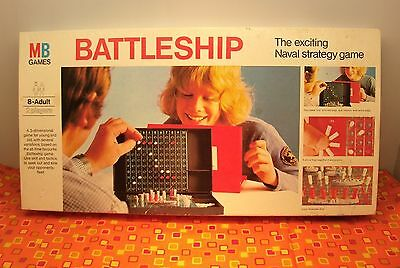 Milton Bradley MB Battleship strategy board game retro vintage traditional