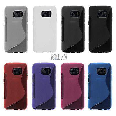 Soft S Line Gel TPU Silicone Case Skin Cover For Samsung Galaxy S7 G930