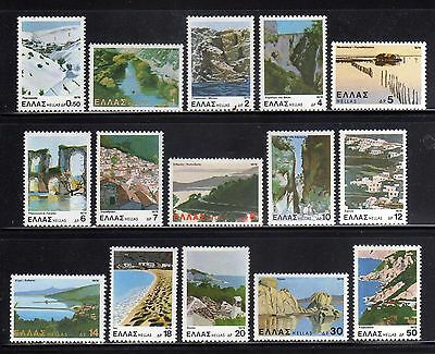 GRECIA/GREECE 1979 MNH SC.1328/1342 Landscapes