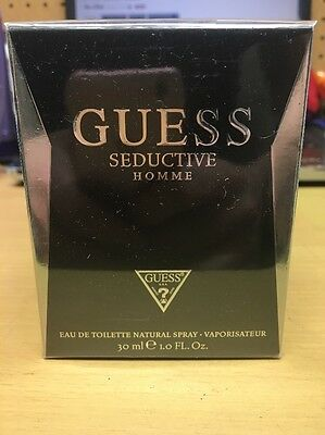 Guess Seductive Homme Eau de Toilette Spray  1 fl oz NEW