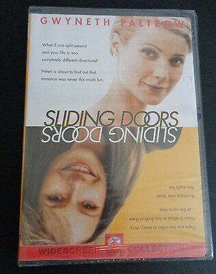 SLIDING DOORS (DVD, 1998, Widescreen) NEW Gwyneth Paltrow SEALED Free Shipping