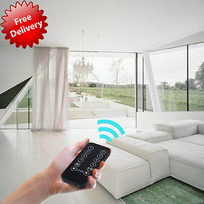 """Electric Curtain Motorized Drapery Tracks with Free Timer 10.5' (83""""-122"""")"""