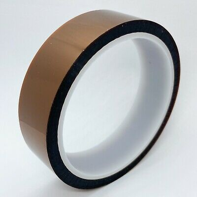 "25 mm x 33 m Gold Kapton Tape Polyimide High Temp 1"" x 36yds 25mm; US stock"