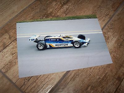Photo / Photograph  Bobby Unser Penske Ford Cosworth PC9 Indianapolis 1981  //