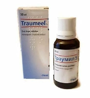 HEEL Traumeel homeo drops pain inflammation caused by injuries of various types