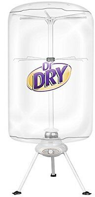 Dr Dry Portable Clothing Dryer 1000W Heater No vent or special outlet needed