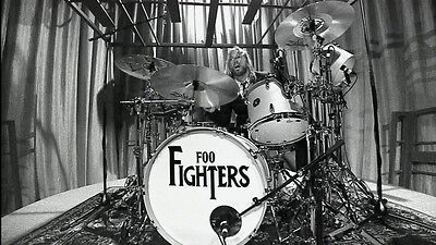 Foo Fighters Taylor Hawkins 8X11 Photo Poster Album Art Picture Decor 002