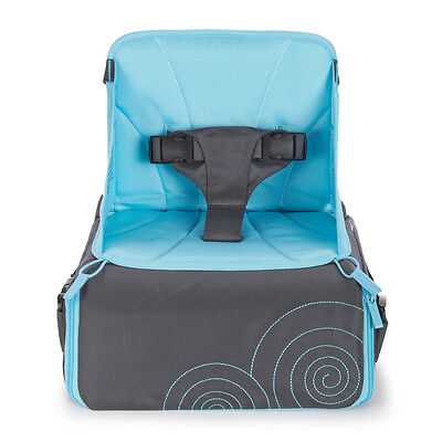 Munchkin Travel Booster Seat with Storage Baby Stylish Design High Height Adjust