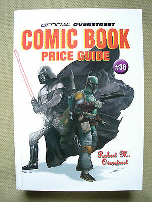 Overstreet Comic Book Price Guide #38 HC NM+ Darth Vader Star Wars Cover
