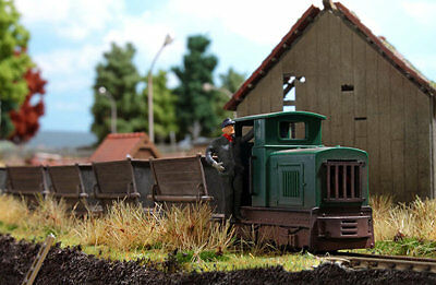 Busch 12001 NEW  NARROW GAUGE TRAIN SET WITH PEAT WAGONS