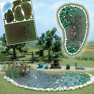 Busch 1210 NEW GARDEN POND SET