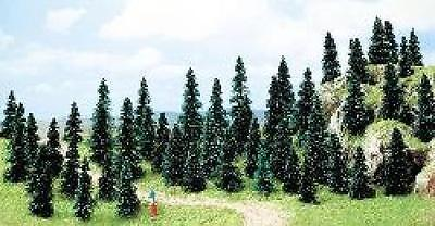 Busch 6597 NEW N/Z 50 BUDGET FIR TREES