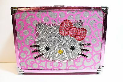 Hello Kitty Cosmetic Case BLING Hello Kitty 40th Anniversary CASE ONLY EUC