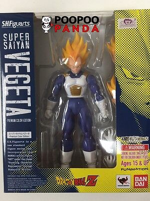 Bandai S.H. Figuarts Super Saiyan Vegeta - Premium Color Edition