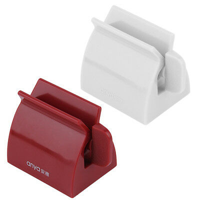 Rolling Tube Toothpaste Squeezer Toothpaste Easy Dispenser Seat Holder Stand OY