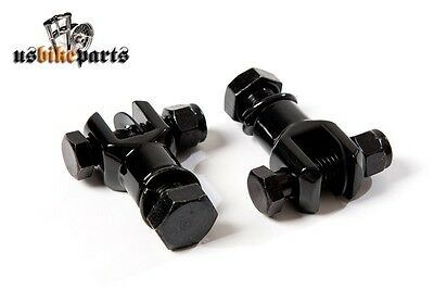 "1/2"" UNF black Footpeg Clevis brackets with Female Universal Mount"