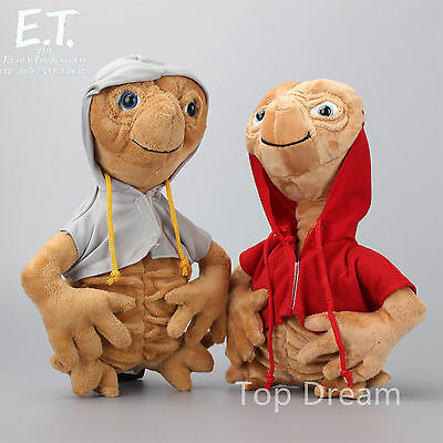 Movie E.T. Extra-Terrestrial Alien Plush Soft Toy Stuffed Animal Doll 11'' Teddy