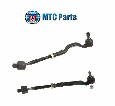 BMW E46 325Xi 330Xi Set of 2 Front Tie Rod Assemblys Left And Right MTC