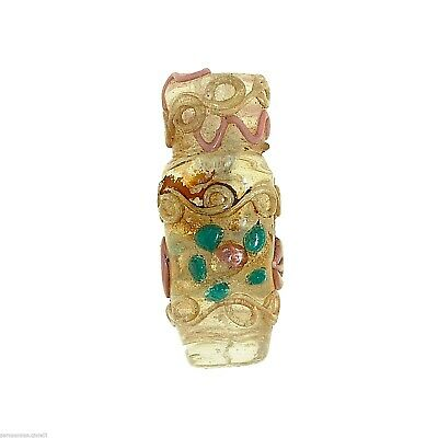 Perfume Scent Glass Bottle Chatelaine Murano, Venezia 20th century  (1028)