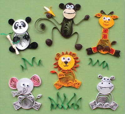 Quilled Creations Quilling Kit - Jungle Buddies