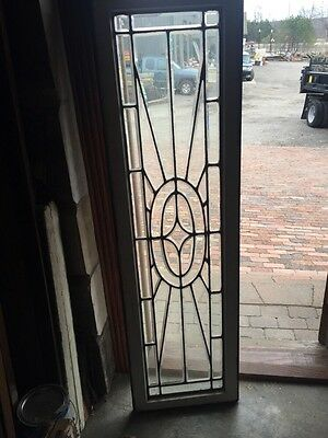 Sga 689 Beautiful Antique Beveled Glass Transom Window