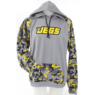 JEGS 15098 JEGS Camo Hoodie Large