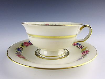 Castleton China CASTLETON MANOR Cup and Saucer Set(s) EXCELLENT