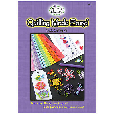 Quilled Creations Kit - Quilling Made Easy