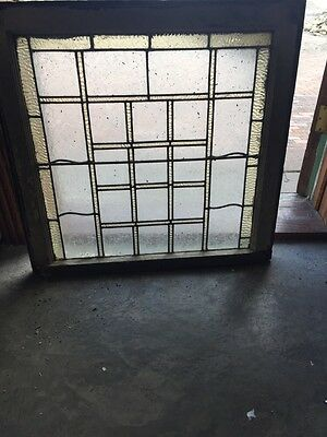 Sg 710 Antique Geometric Design Stain Window