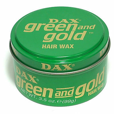 Dax Hair Wax Style Green and Gold 99g
