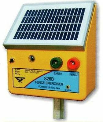 Thunderbird Solar Electric Fence Energiser. S26B 2.5km Self Contained