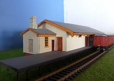 HO scale building Tenterfield Goods Shed NSWGR KIT