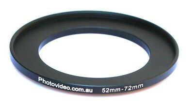 Step Up Ring 52-72mm  52mm 72mm - NEW