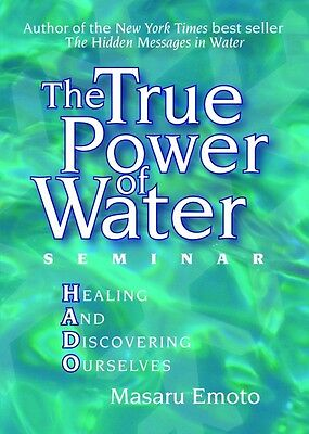 The True Power of Water DVD by Masaru Emoto