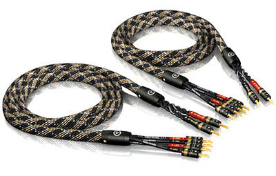 Viablue SC-4 Silver Series Bi-Wire Speaker Cable in Lengths 1,5m - 15 M