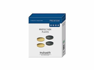 4er Set Discs Plate for Absorber Von Inakustik Premium Series Gold
