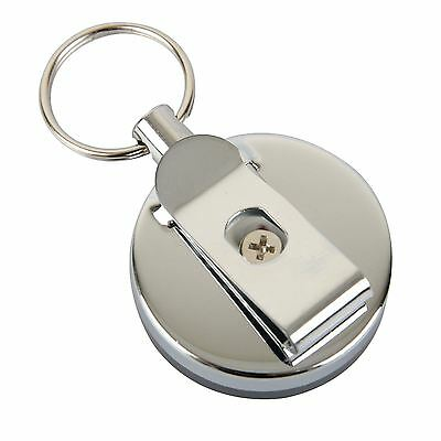 Retractable Stainless Steel Key Holder