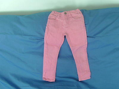 Girls 3-4 Years - Pink Stretch Jeans - Denim Co.